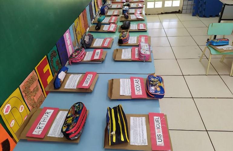 Município entrega mais 37.722 mil kits escolares