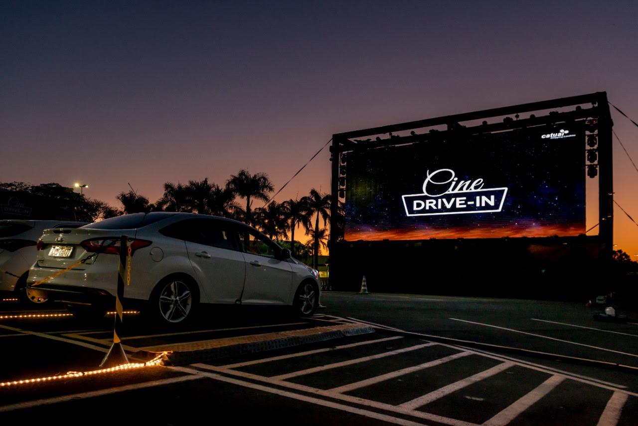 Cine Drive-In tem segunda edição no Catuaí Shopping
